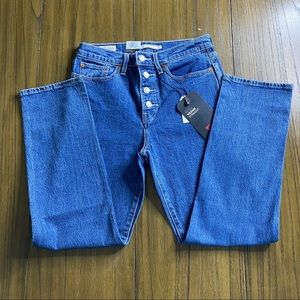 Levis wedgie straight jeans original style